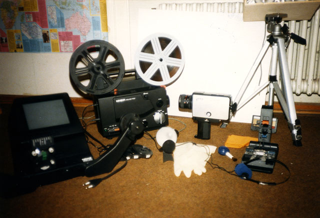 Super-8 Equipment